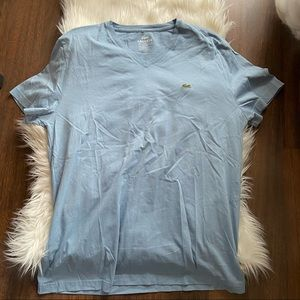 New Lacoste V neck T-Shirt